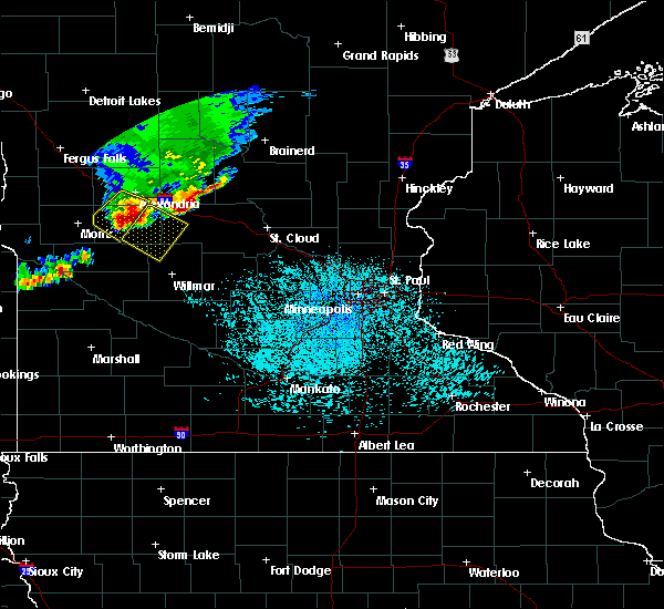 Radar Image for Severe Thunderstorms near Westport, MN at 6/4/2019 12:44 PM CDT