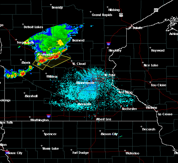 Radar Image for Severe Thunderstorms near St. Rosa, MN at 6/4/2019 1:12 PM CDT