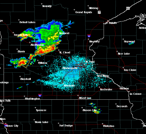 Radar Image for Severe Thunderstorms near St. Anthony, MN at 6/4/2019 1:40 PM CDT
