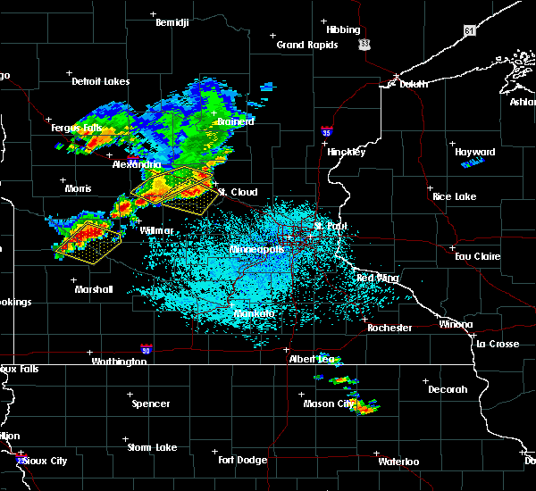 Radar Image for Severe Thunderstorms near Granite Falls, MN at 6/4/2019 1:50 PM CDT