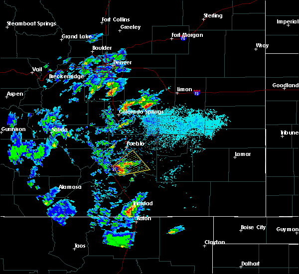 Radar Image for Severe Thunderstorms near Colorado City, CO at 6/4/2019 1:01 PM MDT