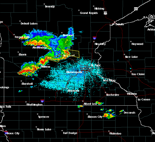 Radar Image for Severe Thunderstorms near St. Francis, MN at 6/4/2019 2:26 PM CDT