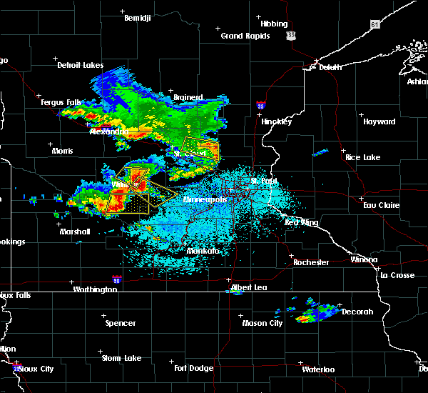 Radar Image for Severe Thunderstorms near Hutchinson, MN at 6/4/2019 3:00 PM CDT