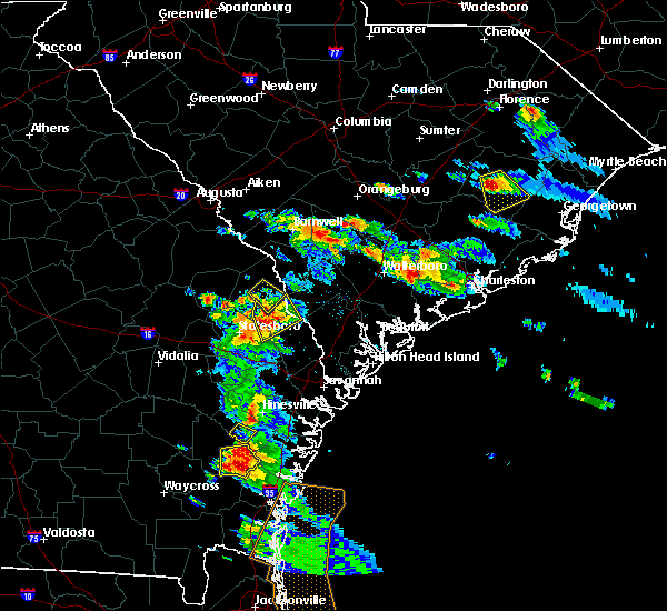 Radar Image for Severe Thunderstorms near Hollywood, SC at 6/4/2019 4:14 PM EDT