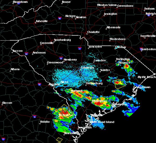 Radar Image for Severe Thunderstorms near Lane, SC at 6/4/2019 4:17 PM EDT
