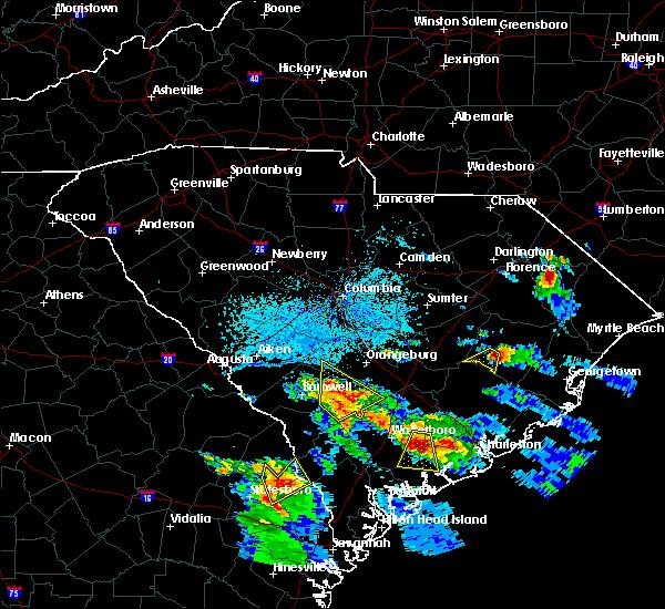 Radar Image for Severe Thunderstorms near Lane, SC at 6/4/2019 4:33 PM EDT