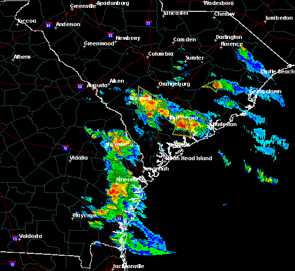 Radar Image for Severe Thunderstorms near Hollywood, SC at 6/4/2019 4:39 PM EDT
