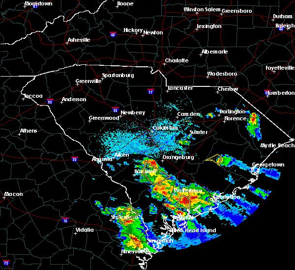 Radar Image for Severe Thunderstorms near Lane, SC at 6/4/2019 4:58 PM EDT