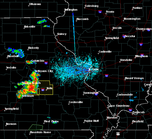 Radar Image for Severe Thunderstorms near Argyle, MO at 6/4/2019 4:01 PM CDT