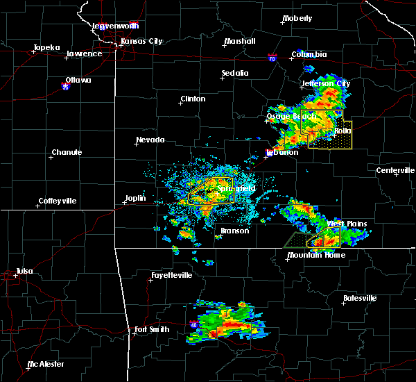 Radar Image for Severe Thunderstorms near Goodnight, MO at 6/4/2019 4:34 PM CDT