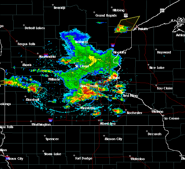 Radar Image for Severe Thunderstorms near Hanley Falls, MN at 6/4/2019 4:36 PM CDT