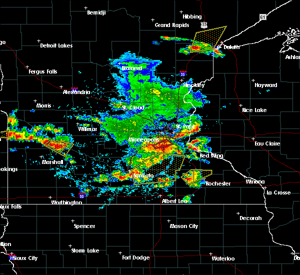 Radar Image for Severe Thunderstorms near Delhi, MN at 6/4/2019 4:57 PM CDT