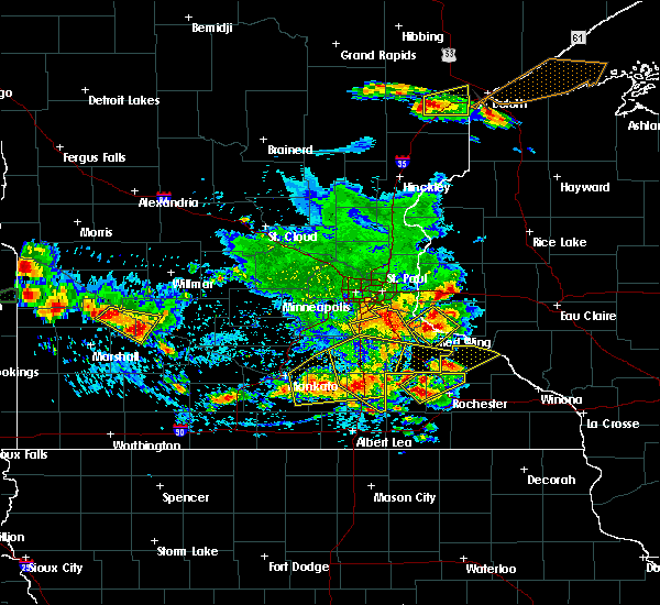Radar Image for Severe Thunderstorms near Dennison, MN at 6/4/2019 5:14 PM CDT