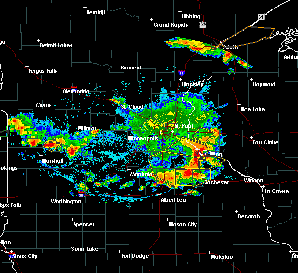 Radar Image for Severe Thunderstorms near Manchester, MN at 6/4/2019 5:38 PM CDT