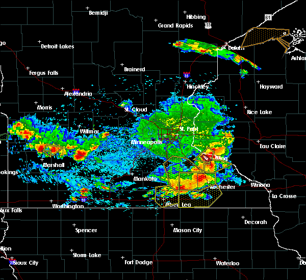 Radar Image for Severe Thunderstorms near Red Wing, MN at 6/4/2019 5:54 PM CDT