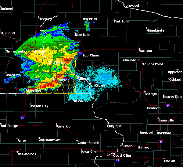 Radar Image for Severe Thunderstorms near Mabel, MN at 6/4/2019 6:23 PM CDT