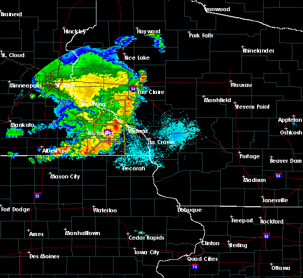Radar Image for Severe Thunderstorms near Goodview, MN at 6/4/2019 6:53 PM CDT