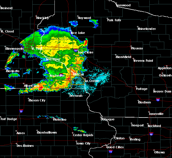 Radar Image for Severe Thunderstorms near Goodview, MN at 6/4/2019 7:10 PM CDT