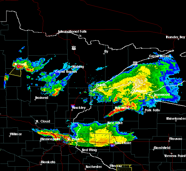 Radar Image for Severe Thunderstorms near Laporte, MN at 6/4/2019 7:39 PM CDT