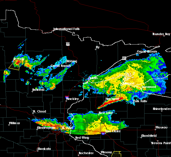Radar Image for Severe Thunderstorms near Laporte, MN at 6/4/2019 7:49 PM CDT