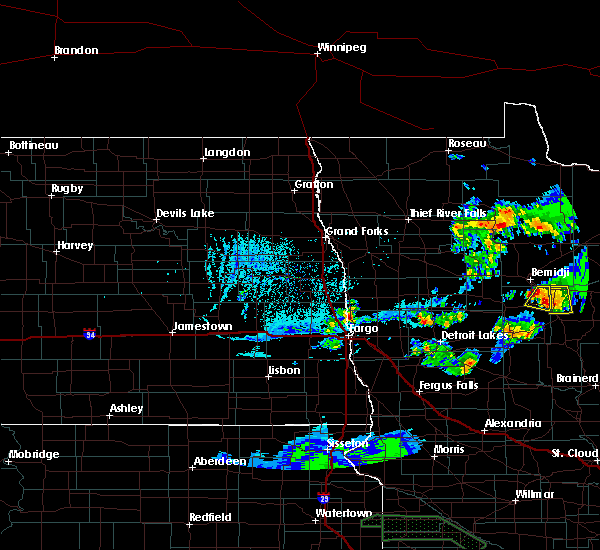 Radar Image for Severe Thunderstorms near Lake George, MN at 6/4/2019 8:17 PM CDT