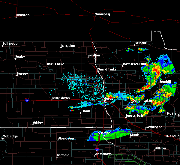 Radar Image for Severe Thunderstorms near Lake George, MN at 6/4/2019 8:41 PM CDT