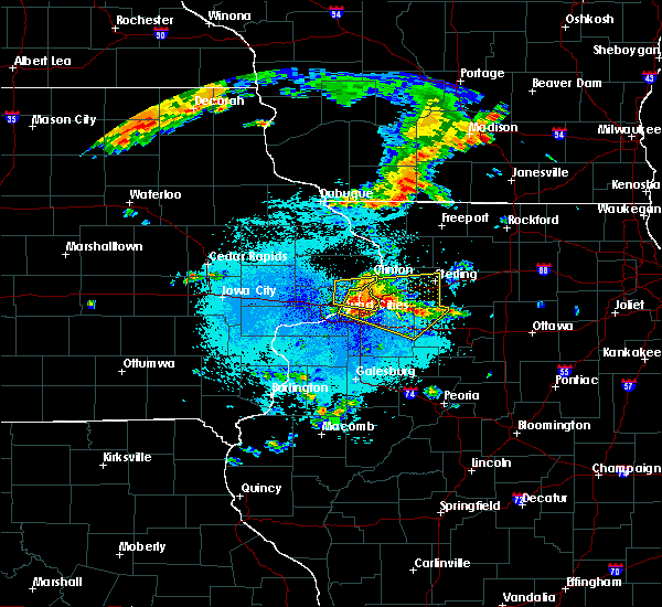 Radar Image for Severe Thunderstorms near Hillsdale, IL at 6/4/2019 10:45 PM CDT