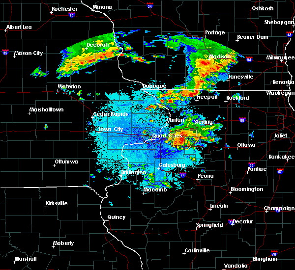 Radar Image for Severe Thunderstorms near Manlius, IL at 6/4/2019 11:16 PM CDT