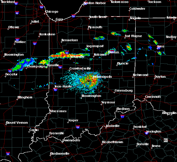 Radar Image for Severe Thunderstorms near Mulberry, IN at 6/5/2019 2:09 PM EDT
