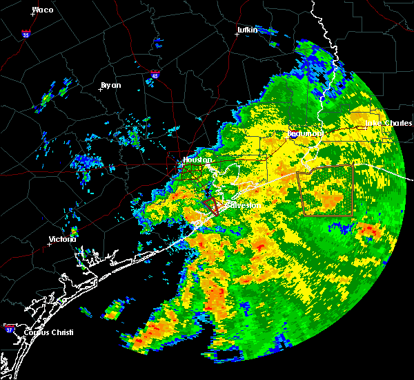 Radar Image for Severe Thunderstorms near Texas City, TX at 6/5/2019 1:42 PM CDT