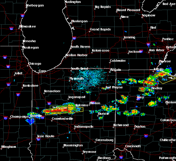 Radar Image for Severe Thunderstorms near West Leipsic, OH at 6/5/2019 2:52 PM EDT