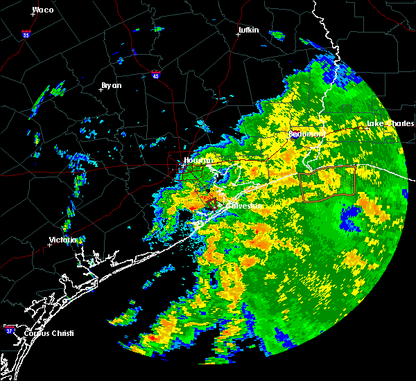 Radar Image for Severe Thunderstorms near Texas City, TX at 6/5/2019 2:14 PM CDT