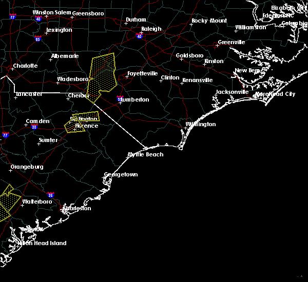Radar Image for Severe Thunderstorms near Dillon, SC at 6/5/2019 3:33 PM EDT