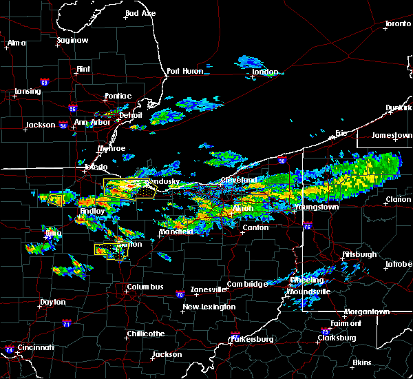 Radar Image for Severe Thunderstorms near New Riegel, OH at 6/5/2019 3:40 PM EDT