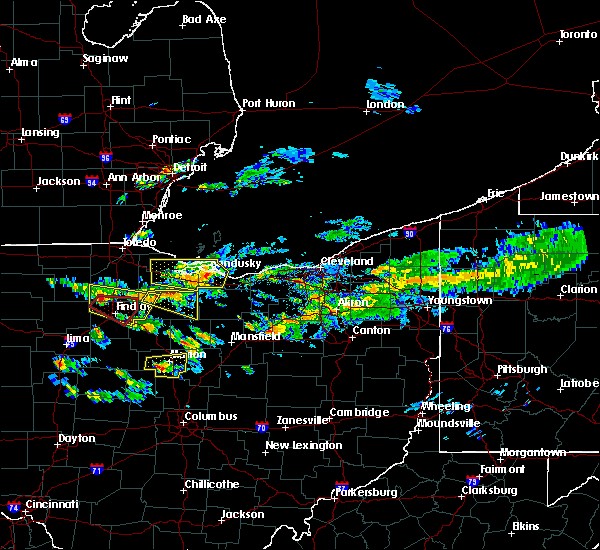 Radar Image for Severe Thunderstorms near Findlay, OH at 6/5/2019 3:57 PM EDT