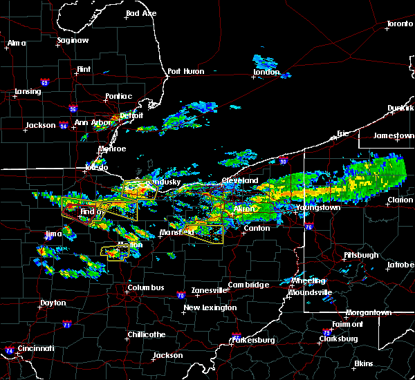Radar Image for Severe Thunderstorms near Orrville, OH at 6/5/2019 4:00 PM EDT