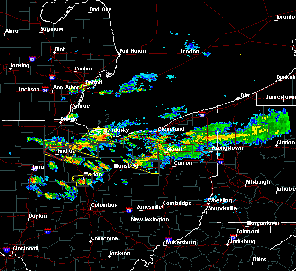 Radar Image for Severe Thunderstorms near Findlay, OH at 6/5/2019 4:04 PM EDT