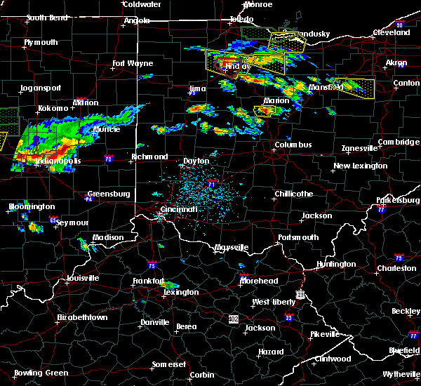 Radar Image for Severe Thunderstorms near Waldo, OH at 6/5/2019 4:08 PM EDT