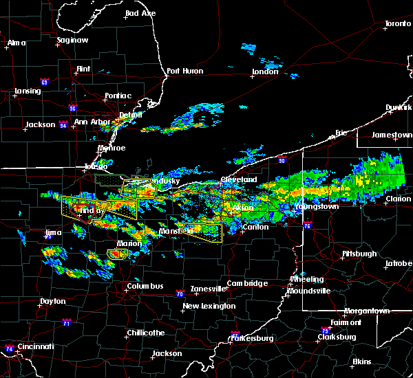 Radar Image for Severe Thunderstorms near Attica, OH at 6/5/2019 4:10 PM EDT