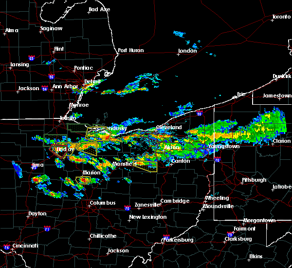 Radar Image for Severe Thunderstorms near New Riegel, OH at 6/5/2019 4:11 PM EDT