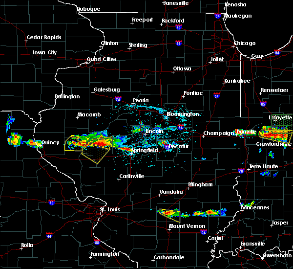 Radar Image for Severe Thunderstorms near Bluffs, IL at 6/5/2019 3:15 PM CDT