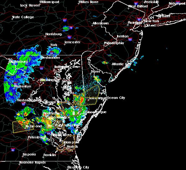 Radar Image for Severe Thunderstorms near Laurel, DE at 6/5/2019 4:18 PM EDT