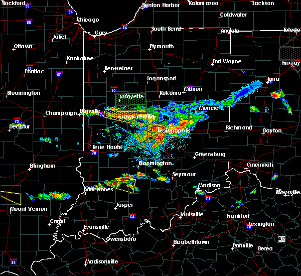 Radar Image for Severe Thunderstorms near Crawfordsville, IN at 6/5/2019 4:21 PM EDT