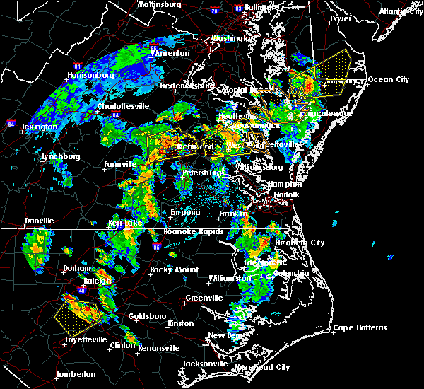 Radar Image for Severe Thunderstorms near West Point, VA at 6/5/2019 4:20 PM EDT