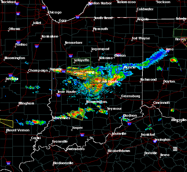 Radar Image for Severe Thunderstorms near Crawfordsville, IN at 6/5/2019 4:30 PM EDT