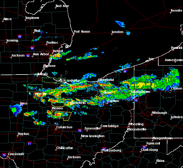 Radar Image for Severe Thunderstorms near Findlay, OH at 6/5/2019 4:30 PM EDT
