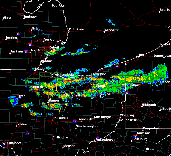 Radar Image for Severe Thunderstorms near Tiro, OH at 6/5/2019 4:29 PM EDT