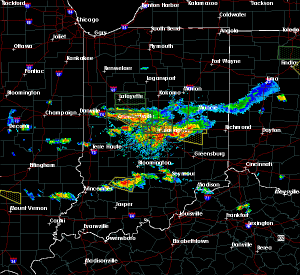 Radar Image for Severe Thunderstorms near Indianapolis, IN at 6/5/2019 4:41 PM EDT