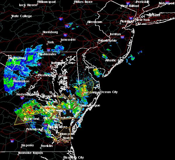 Radar Image for Severe Thunderstorms near Laurel, DE at 6/5/2019 4:44 PM EDT