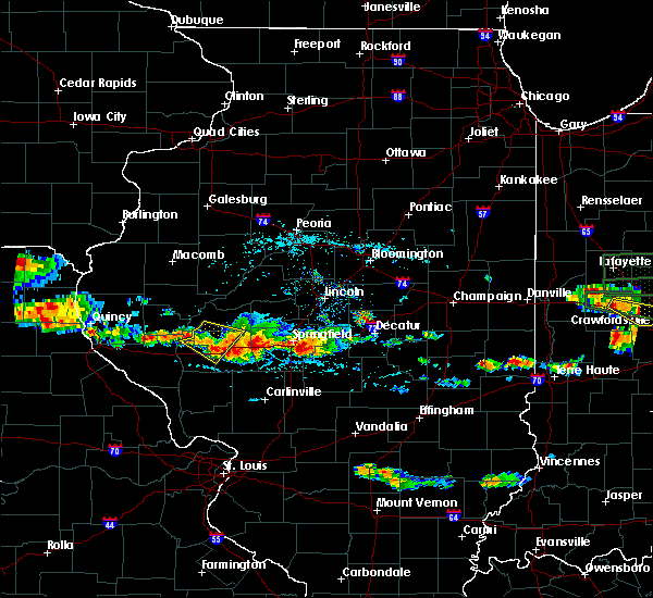 Radar Image for Severe Thunderstorms near Rochester, IL at 6/5/2019 3:57 PM CDT